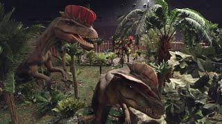 T-rex ve dev dinozorlar. Ankara'da açılan dünyanın en büyük dev dinozor ormanını gezdik.(Wonderland)