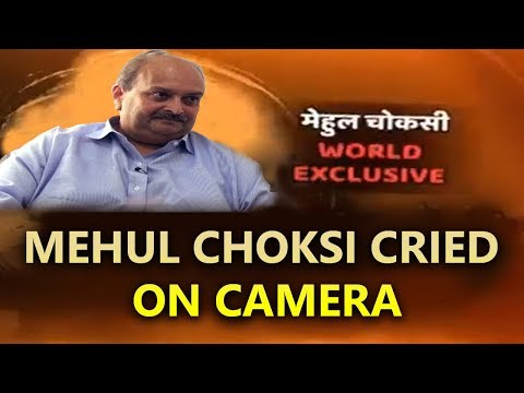 When Mehul Choksi Cried On Camera. WATCH EXCLUSIVE REVELATION With Sheela Raval Right Now #ABPपरमेहु