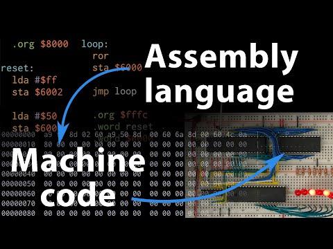 Assembly language vs. machine code — 6502 part 3