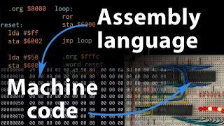 assembly-language-vs-machine-code-6502-part-3