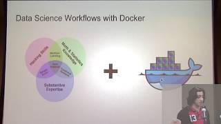 Data Science Workflows using Docker Containers