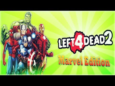 Left 4 Dead 2 - Marvel Edition - Stan Lee - Infinity War Premiere - Comedy Gaming