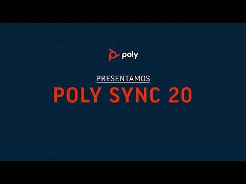 Poly Sync 20 Teaser Video: Español