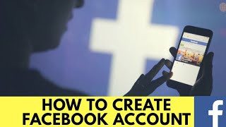 How to Open a Facebook Account? Facebook Account kaise banate hain? Hindi video by Earn Tricks World