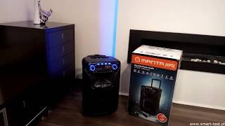 Manta SPK5021 HERAKLES Karaoke Power Audio - recenzja głośnika
