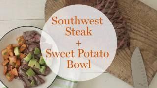 Southwest Steak and Potato Bowl
