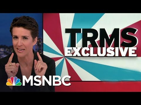 News Organizations: Beware Of Forged Donald Trump Russia Documents | Rachel Maddow | MSNBC