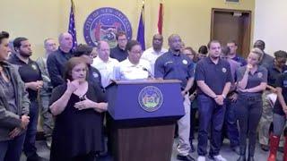 New Orleans mayor updates on Hurricane Barry