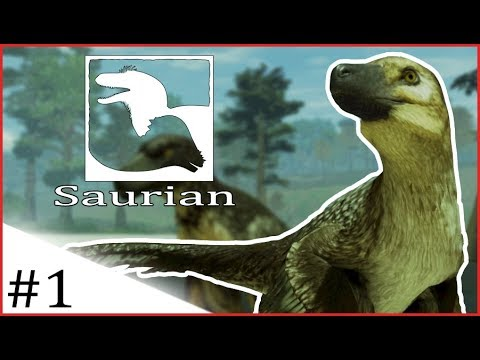 Saurian | DAKOTARAPTOR, SURVIVING AS A BABY DAKOTA! | #1 [Early Access-Pre-Alpha]