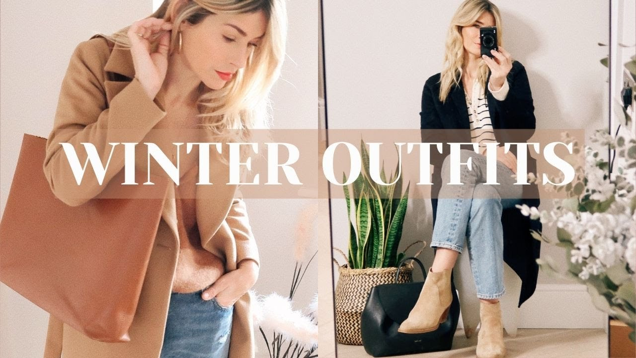 CAPSULE WARDROBE OUTFIT IDEAS | Winter 2021
