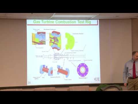 "Dr. Robert P. Lucht,  ""Laser Diagnostics in Flames: Nonintrusive Probes"""