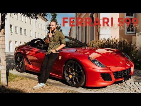 over 124db in a 1 of 80 Ferrari 599 SA Aperta / The Supercar Diaries