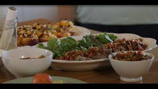 Grilled Fillet Steak Salad And Chimichurri Using Flora Pro-activ