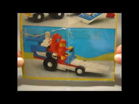 Building LEGO Town - 6698 RV with Speedboat (1986) - Alternate Build n°1 - Dragster