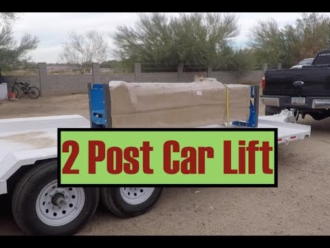 We Installed An Atlas 2 Post Car Lift From Greg Smith Equipment