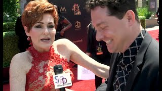 On the 2019 Daytime Emmys Red Carpet: General Hospital's Carolyn Hennesy