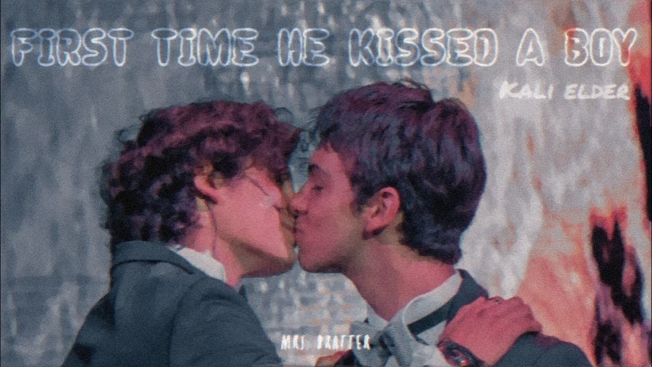 FIRST TIME HE KISSED A BOY // KADIE ELDER  ARISTEMO  - YouTube