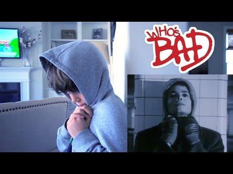 Michael Jackson BAD and THRILLER Kid Version!