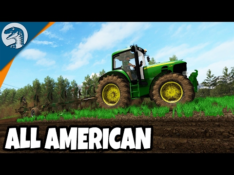 BIG AMERICAN TRACTOR WORKS FIELDS | Rappack Farms #28 | Farming Simulator 17 Multiplayer Gameplay