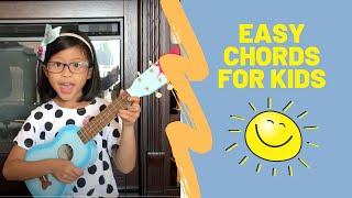 You Are My Sunshine Ukulele Easy Tutorial By 7-year-old Lana