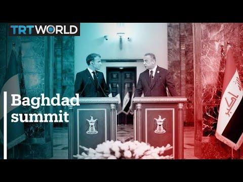 Top international leaders attend summit in Baghdad