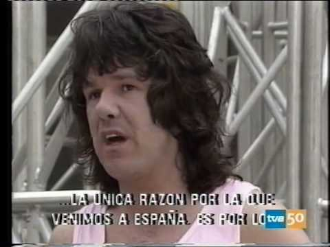 "Gary Moore Interview + ""Over the Hills""(live in Madrid '87) A Tope 10-06-87"