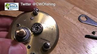 How To Install Bearings In A Shimano Calcutta 201B