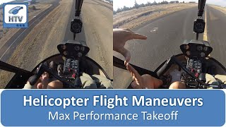 Max Performance Takeoff - Helicopter Flight Maneuvers