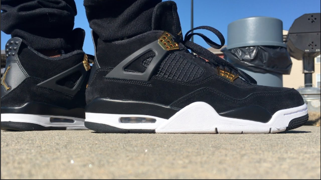 save off db0eb 2f95a AIR JORDAN 4 ROYALTY ON FOOT !!!