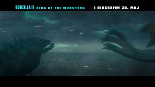 Godzilla II King of the Monsters - 6 sek. video - I biografen 30. maj