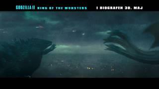 Godzilla II King of the Monsters - 6 sek. video - I biografen 30. maj