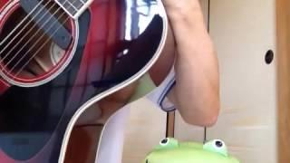 原曲キーカポ10のため立てて弾いてます。