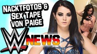 Nacktfotos & Sex-Tape von Paige veröffentlicht | WWE NEWS 22/2017