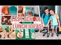🍎 Easy Back to School Lunch Ideas for KIDS 2019  🥪🍴Lunch Prep for school