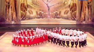 "Русский танец ""Лето"" на фестивале «АЛИНА-2018»."