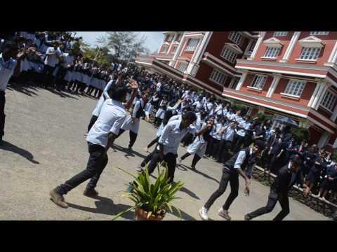 marian college flash mob