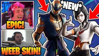 Streamers 'REACT' À 'NEW' Copper Wasp 'Tsuki Skins In Fortnite!