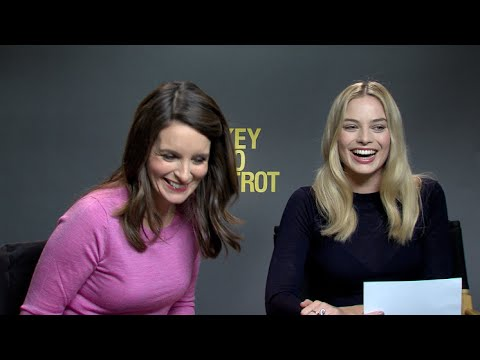 Margot Robbie and Tina Fey interview for WHISKEY TANGO FOXTROT, SUICIDE SQUAD