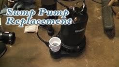 Sump Pump Replacement