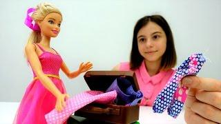 Мультики для девочек: #Барби собирается на море! 🐬 Игры Барби. Видео для девочек #Одевалки
