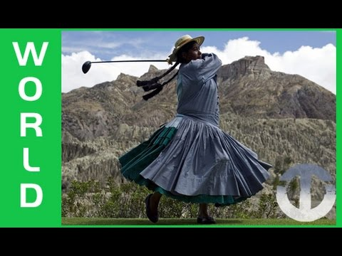 Golf Cholitas of Bolivia on Trans World Sport
