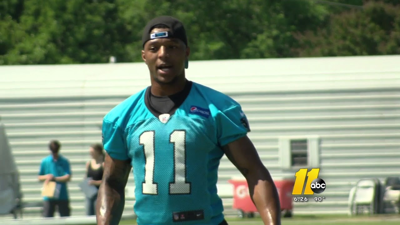 best service 410db af421 Former UNC receiver Bug Howard hopes to stick with Panthers
