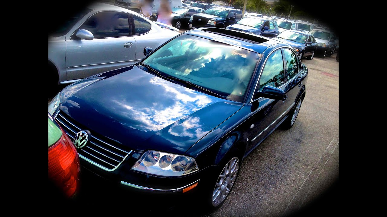 2003 volkswagen passat w8 4motion start up quick tour rev with exhaust view 109k youtube. Black Bedroom Furniture Sets. Home Design Ideas