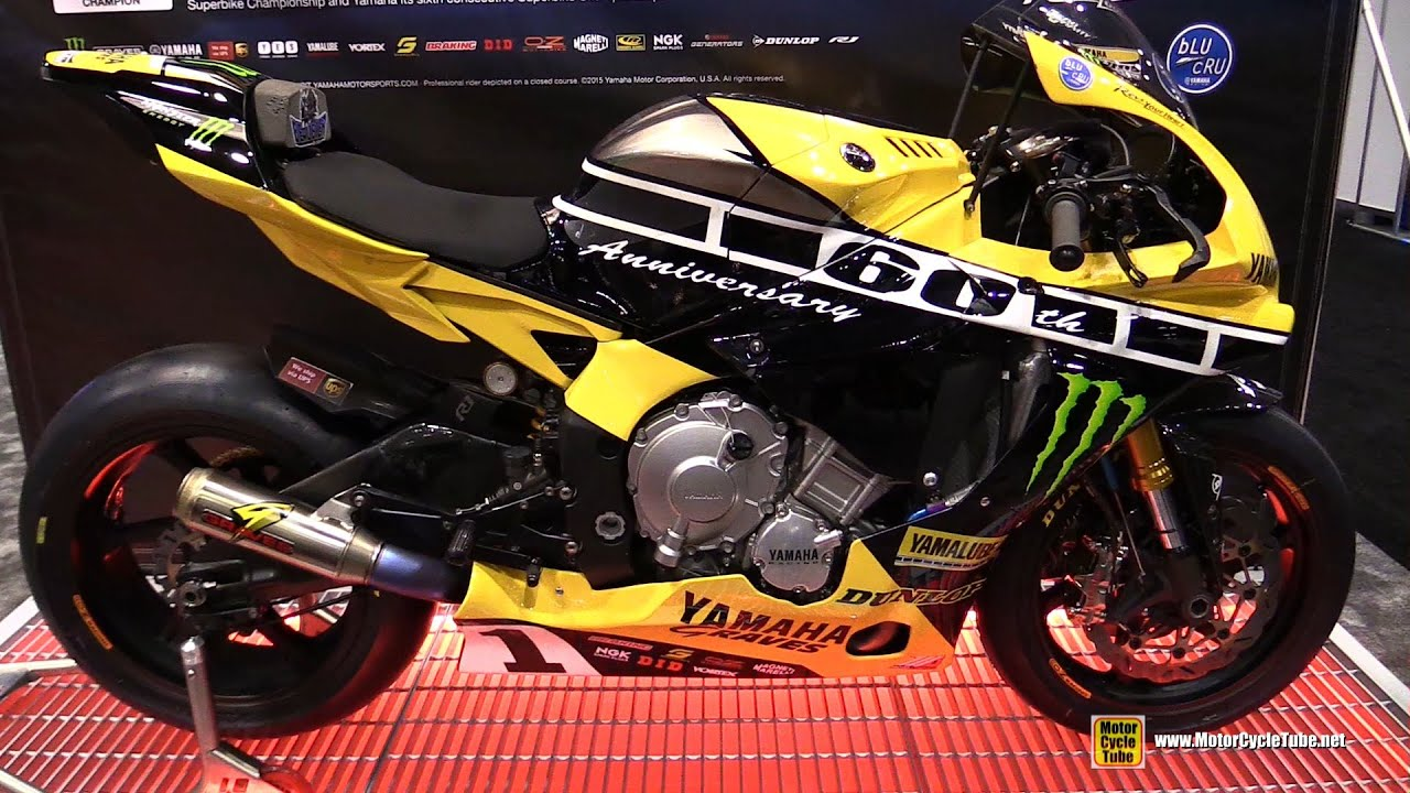 2015 Yamaha YZF R1 Moto America Superbike Champion Bike