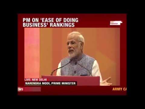 PM Modi Addresses Business Meet In New Delhi
