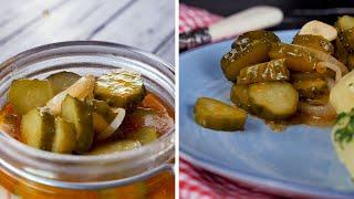 Салат из огурцов «Красный закат» - Рецепты от Со Вкусом
