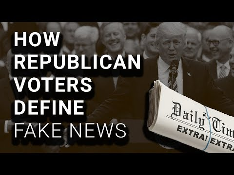 "42% of Republicans Say Accurate, Negative, Stories Are ""Fake News"""