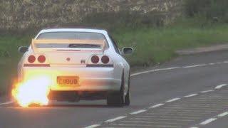 Nissan Skyline/GT-R Compilation - Leaving Car Meets