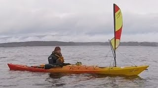 How to Steer a Sailing Kayak with the Skeg