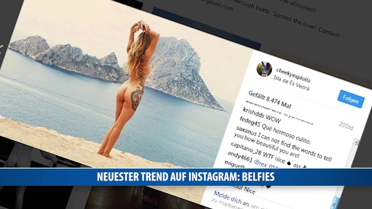 Po Selfies Mooning Ist Neuster Trend Auf Instagram